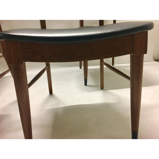 Plastic Mid Century Modern Danish Chairs - Set of 4 For Sale - Image 7 of 12