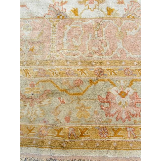 Oversized Oushak Carpet For Sale - Image 10 of 10