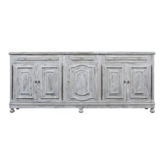 Vintage Painted Italian Baroque Buffet For Sale