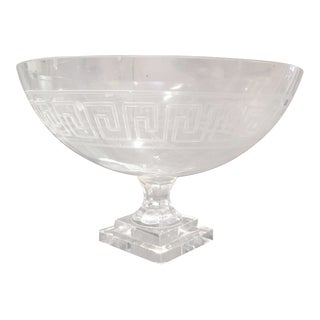 Large Greek Key Motif Bowl