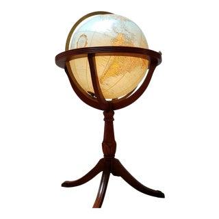Replogle Mid-Century Heirloom Globe Lamp