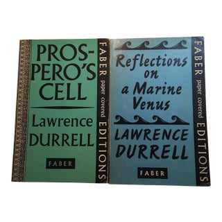 Lawrence Durrell Soft Cover Books - A Pair For Sale