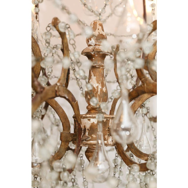 French Early 20th Century Italian Chandelier For Sale - Image 3 of 8