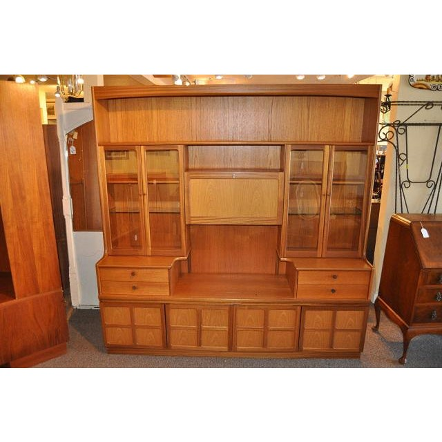 Parker Knoll Vintage 1970s Teak Wall Unit - Image 2 of 6