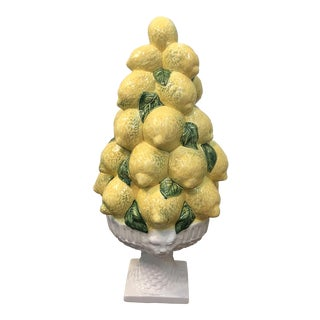 Vintage Italian Lemon Topiary