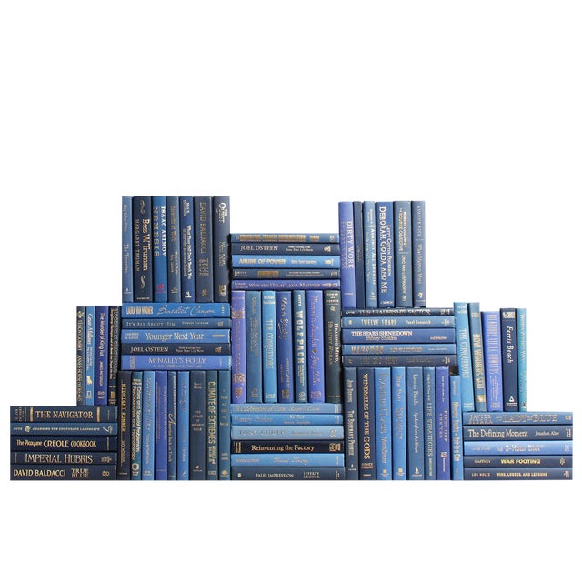 Modern Academy Book Wall : Set of Seventy Five Decorative Books For Sale