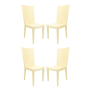 American Post-War Geometric Side Chairs - Set of 4 For Sale