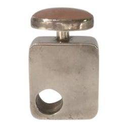 Modern Mexican Silver Perfume Bottle