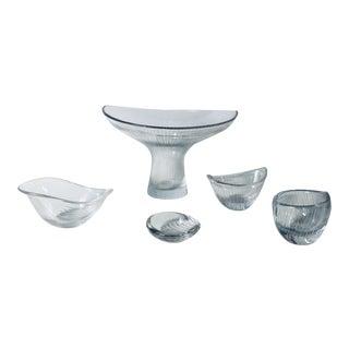 "Tapio Wirkkala Unique Set of ""Kantarelli"" Cups for Littala - Set of 5 For Sale"
