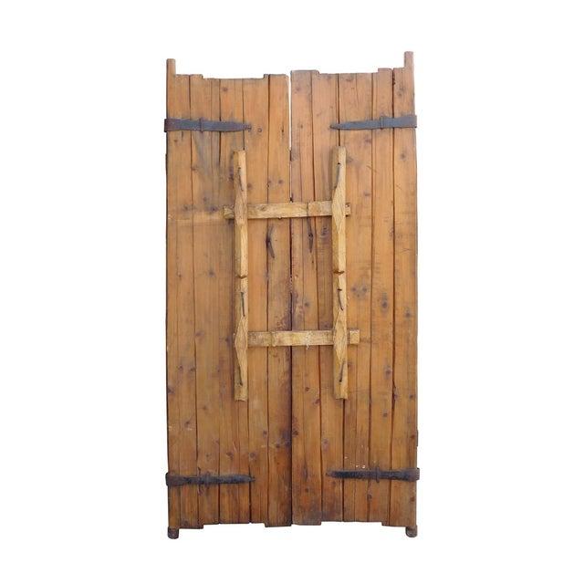 Vintage Iron Hardware Door Gate Wall Panel - Image 5 of 6