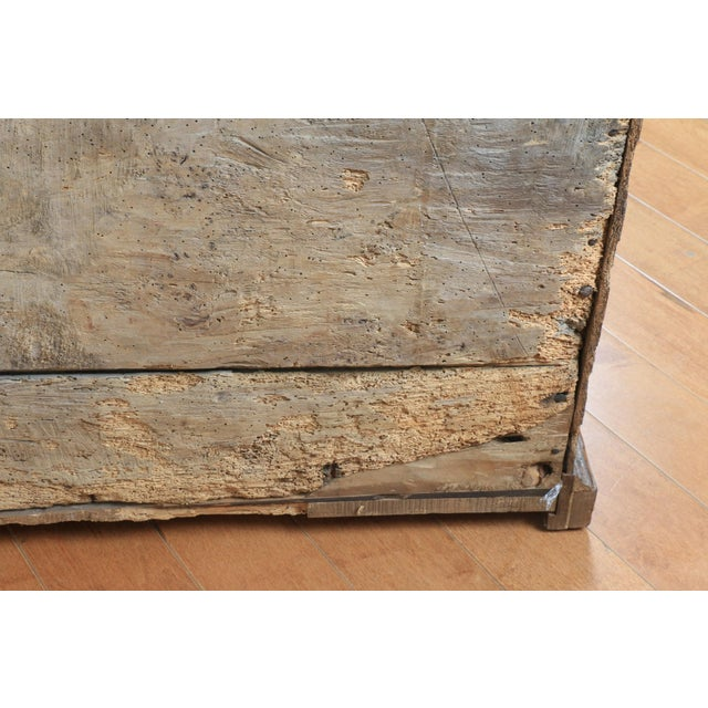 Late 1800's Rustic 2 Piece Italian Cabinet For Sale In Los Angeles - Image 6 of 13