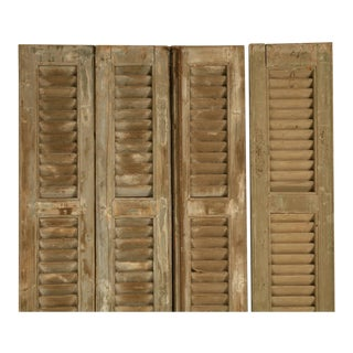French Shutters in Original Paint - set of 4
