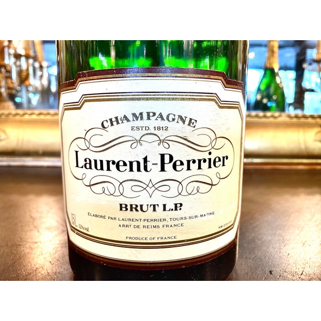 French advertising Laurent Perrier dummy bottle. This specimen would be intended for use in the vineyard or in a bar for...