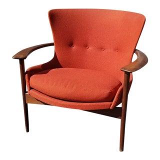 Horseshoe Lounge Chair by Ib Kofod Larsen for Selig