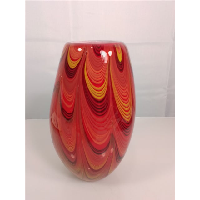 2008 Murano Art Glass Vase - Image 3 of 11