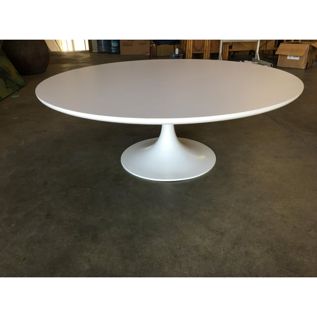 "Knoll Round 42"" Tulip Coffee Table by Eero Saarinen for Knoll For Sale - Image 4 of 9"