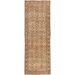 """Vintage Persian Rug, 3'04"""" X 10'00"""" For Sale"""