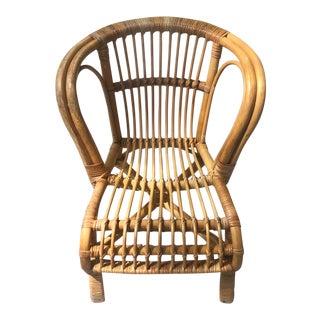 Vintage Mid-Century Children's Chair For Sale