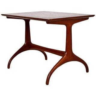 Mid-Century Modern Heritage Henredon Horn Leg Side End Table, 1950s For Sale