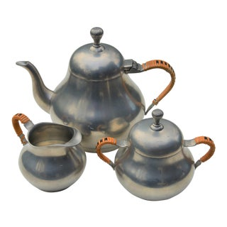 Mid-Century Zeister of Holland Tea Set - Set of 3