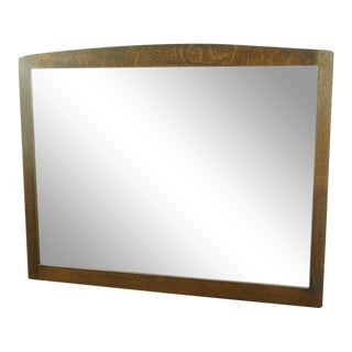Vintage Gustav Stickley Wall Mirror For Sale