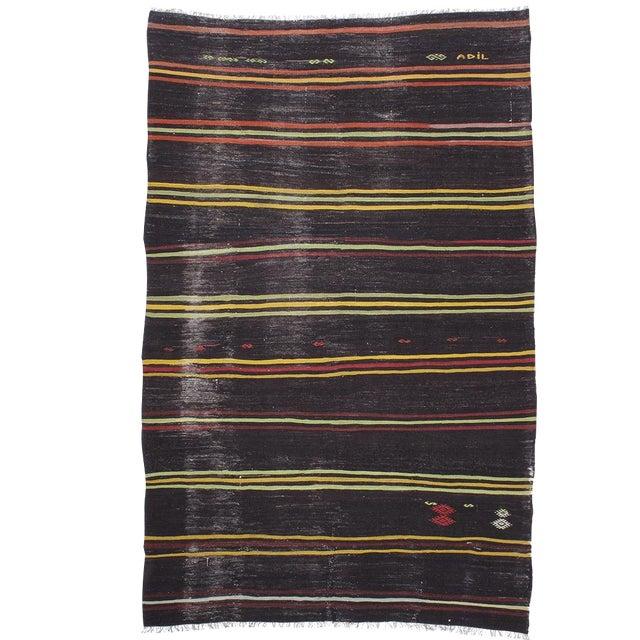 """Striped Kilim, """"Adil"""" For Sale"""