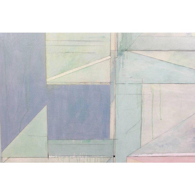 Richard Diebenkorn Style Abstract Painting For Sale - Image 5 of 8