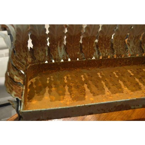 Metal Oblong Iron Planter From France For Sale - Image 7 of 10