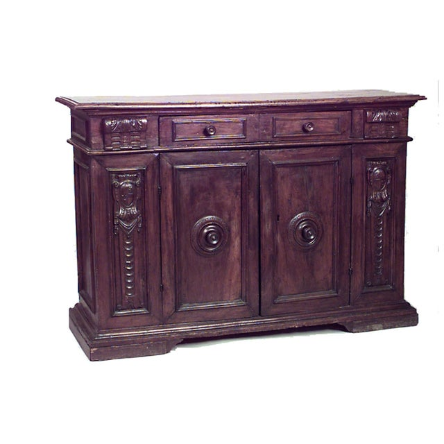 Renaissance Spanish Renaissance Style '17th Century' Sideboard Cabinet For Sale - Image 3 of 3