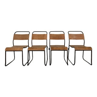 "Vintage ""Du-Al'""Chairs by Dare Inglis- Set of 4 For Sale"