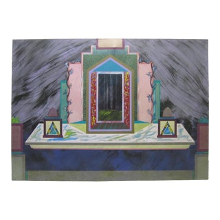 Huge Portal Painting For Sale