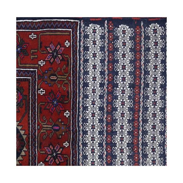 Islamic Persian Handwoven Ghochan Tribal Wool Rug - 3x5 For Sale - Image 3 of 5
