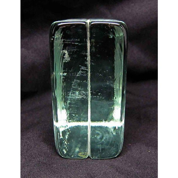 Glass Square Paper Weight - Image 3 of 4