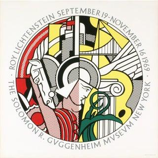 Roy Lichtenstein, Sept. 19-Nov. 16, 1969, the Solomon R. Guggenheim Museum, New York, Vintage Museum Exhibition Poster For Sale