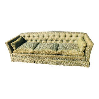 Vintage Henredon Green Couch For Sale