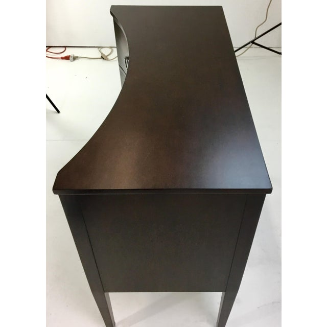 Modern Modern History Brown Concave Front Chest For Sale - Image 3 of 7