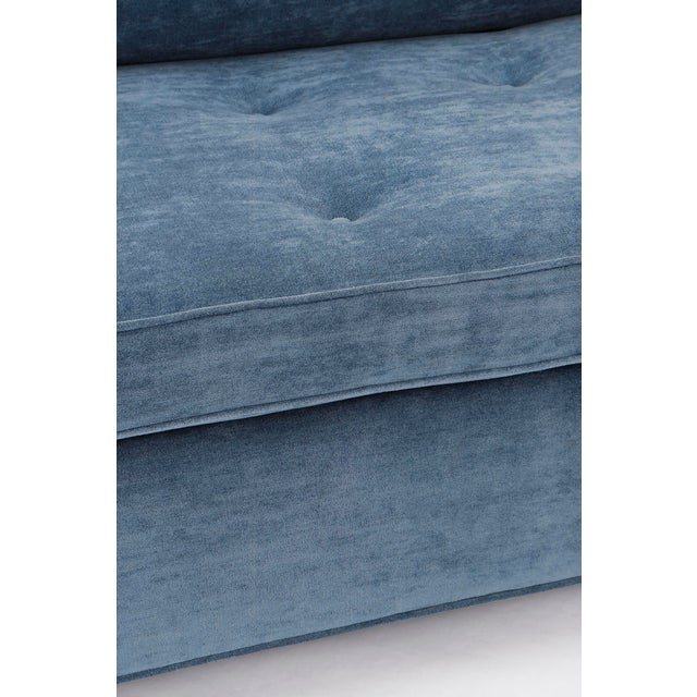 Pair of Bolster-Back Sofas For Sale - Image 9 of 11