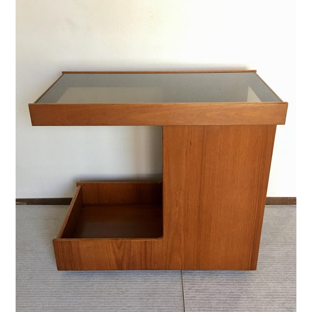 Pedersen & Hansen Danish Modern Bar Cart - Image 3 of 11