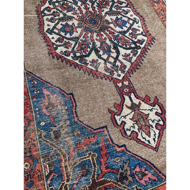 """Antique Persian Ferahan Rug - 3'5.5""""x 5'8"""" - Image 3 of 5"""