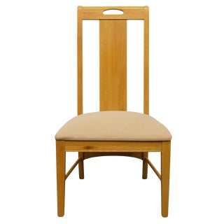 Late 20th Century Vintage Thomasville Furniture American Revival Collection Dining Side Chair For Sale