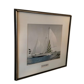 """1980s Framed """"Synergy"""" Sailing Color Photograph For Sale"""