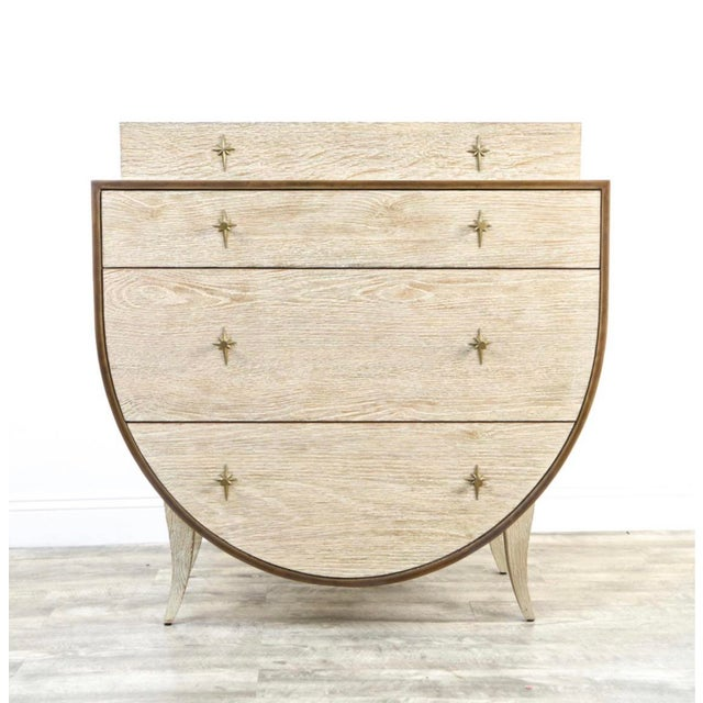 Vintage Cerused Oak Chest of Drawers For Sale - Image 11 of 11