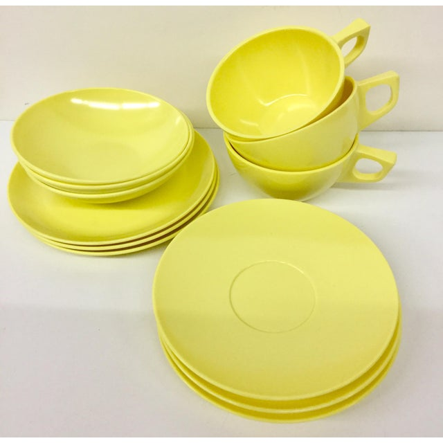 Sun Valley Mel Mac Service for 3 Tableware - 12 Pc. For Sale - Image 11 of 11
