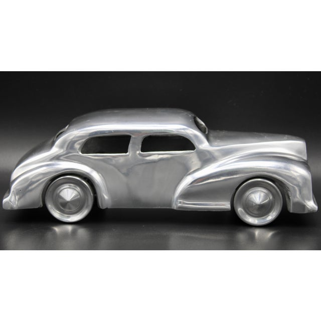 Mid 20th Century Chrome Stylized Classic Car For Sale - Image 5 of 13
