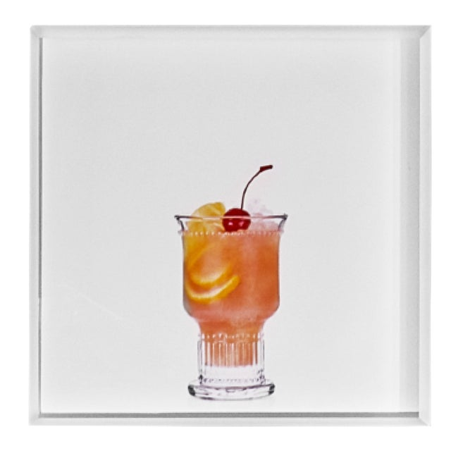 'Brandy Punch' Limited-Edition Cocktail Portrait Photograph For Sale