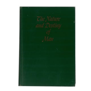 """1949 """"The Nature and Destiny of Man"""" Collectible Book For Sale"""
