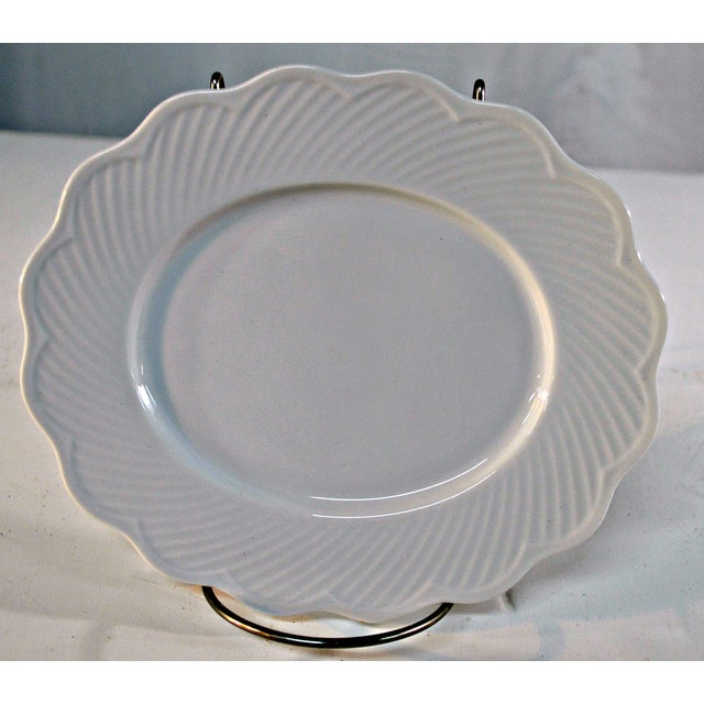 Dansk White Portugal Oval Candy Plate - Image 3 of 7