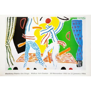 "David Hockney ""Hockney Paints the Stage"" Poster For Sale"