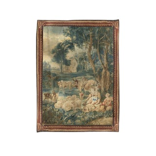 17th Century Brussels Tapestry Signed P. Van Den Hecke