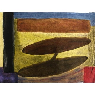 Richard M Goodwin Mid-Century Modern Painting 1950s For Sale